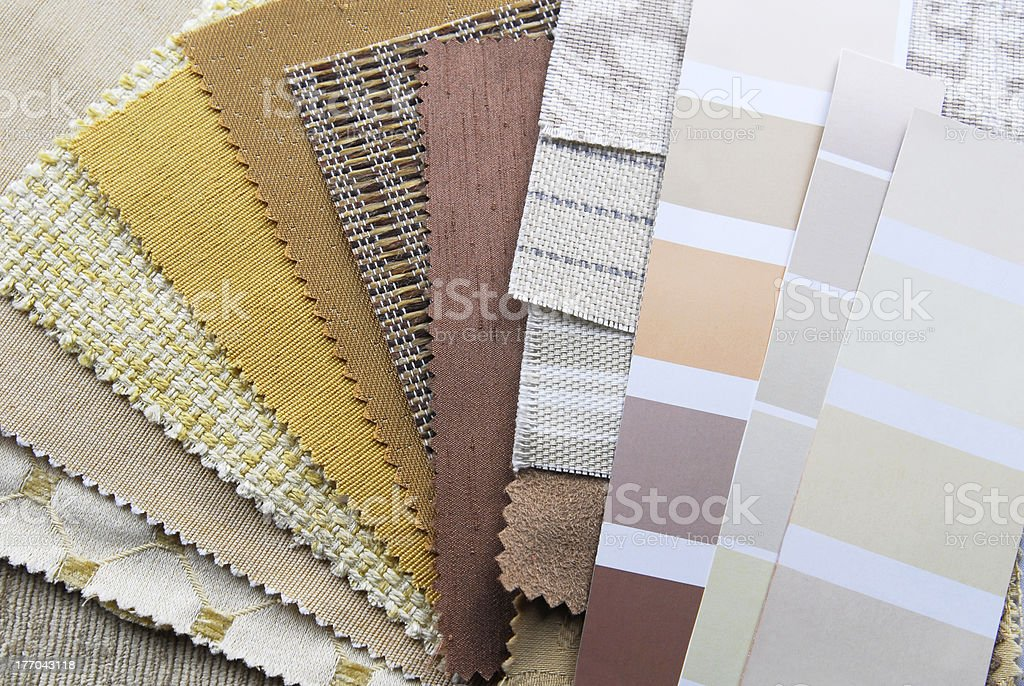 interior decoration repair upholstery planning royalty-free stock photo