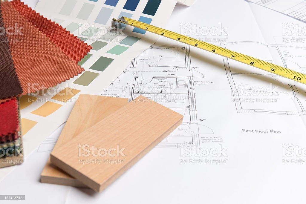 Interior Design Choices royalty-free stock photo