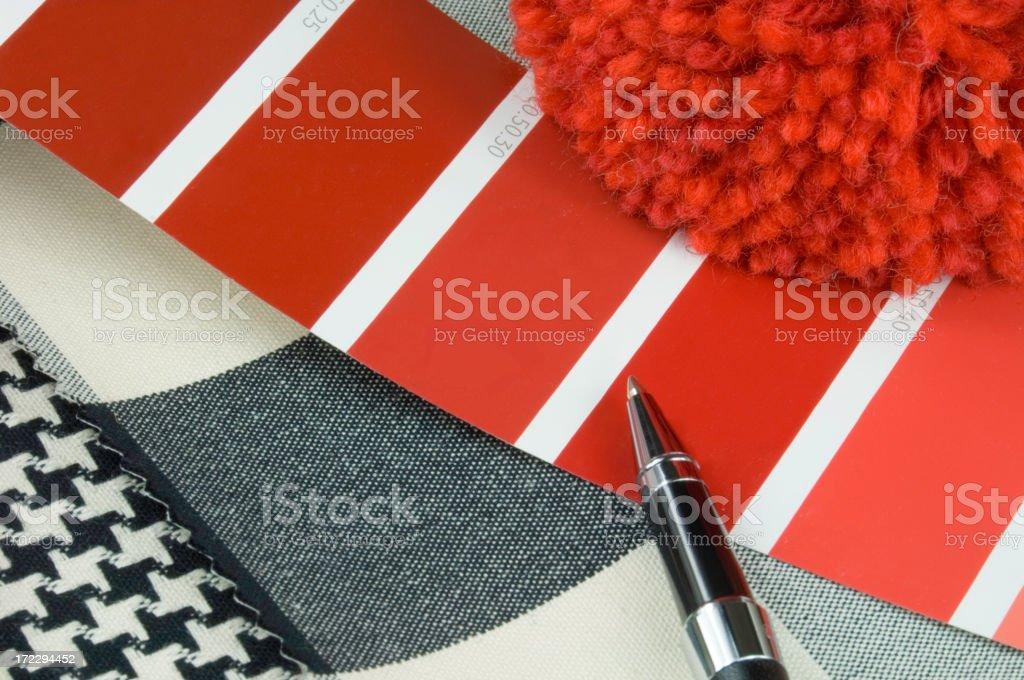 Interior design concept royalty-free stock photo