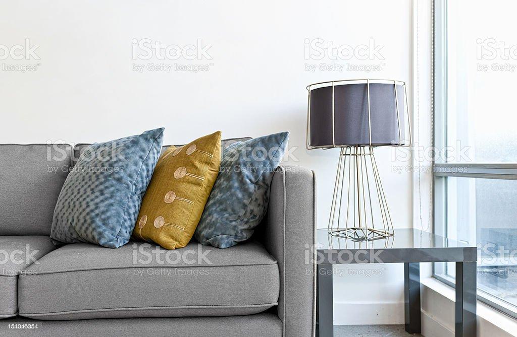 Interior design detail stock photo