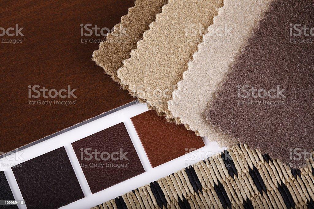 Interior Design Materialization royalty-free stock photo