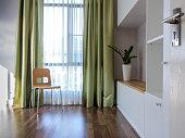 Interior design of modern Living room/ home improvement concept