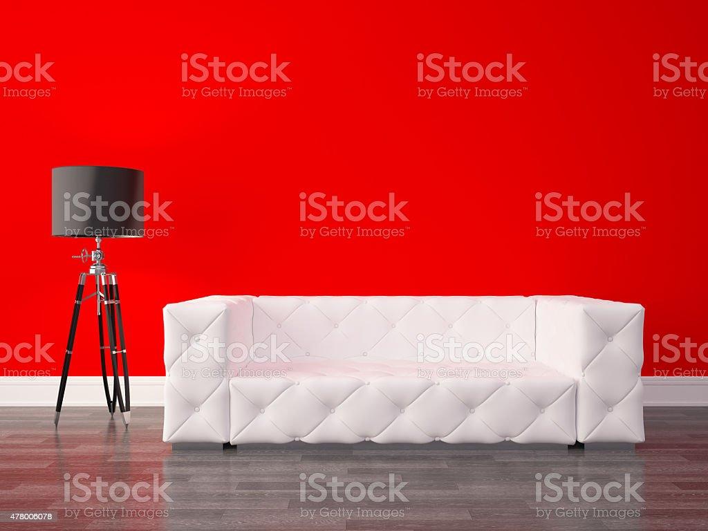 Intérieur série de design: Moderne salle de séjour photo libre de droits