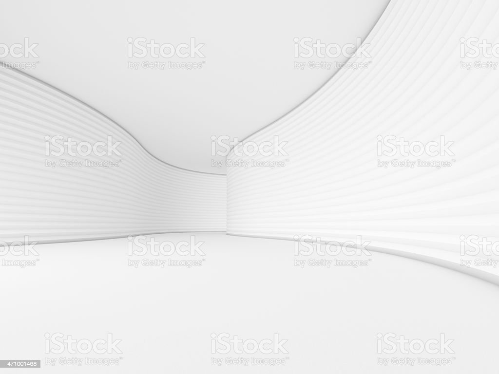 interior empty 3D rendering stock photo