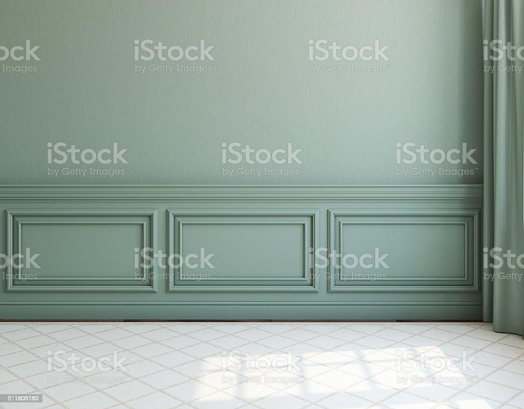 Interior. Empty room. 3d rendering. stock photo