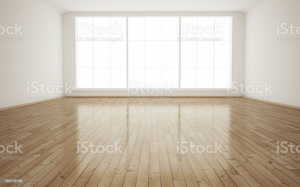Interior empty room royalty-free stock photo