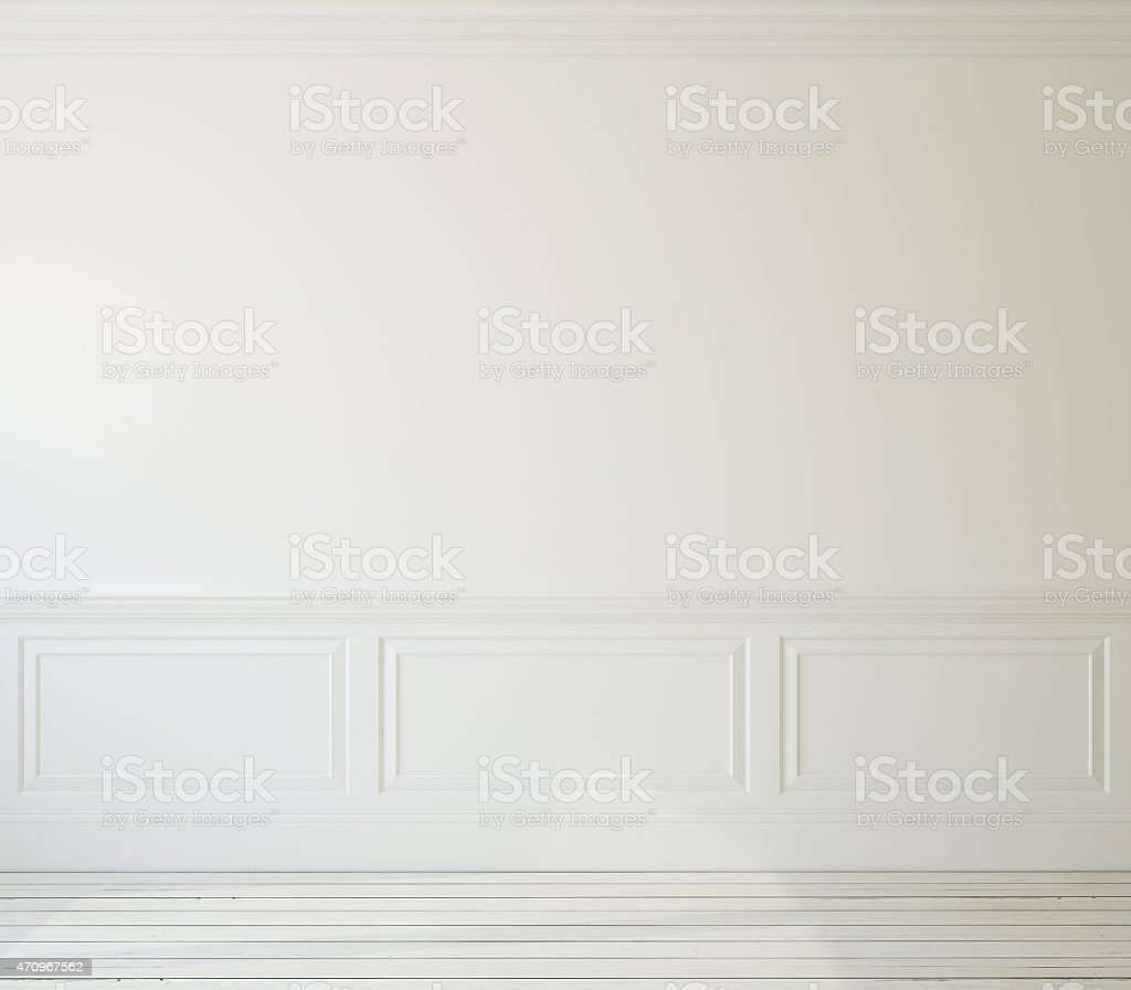 Interior. Empty room stock photo