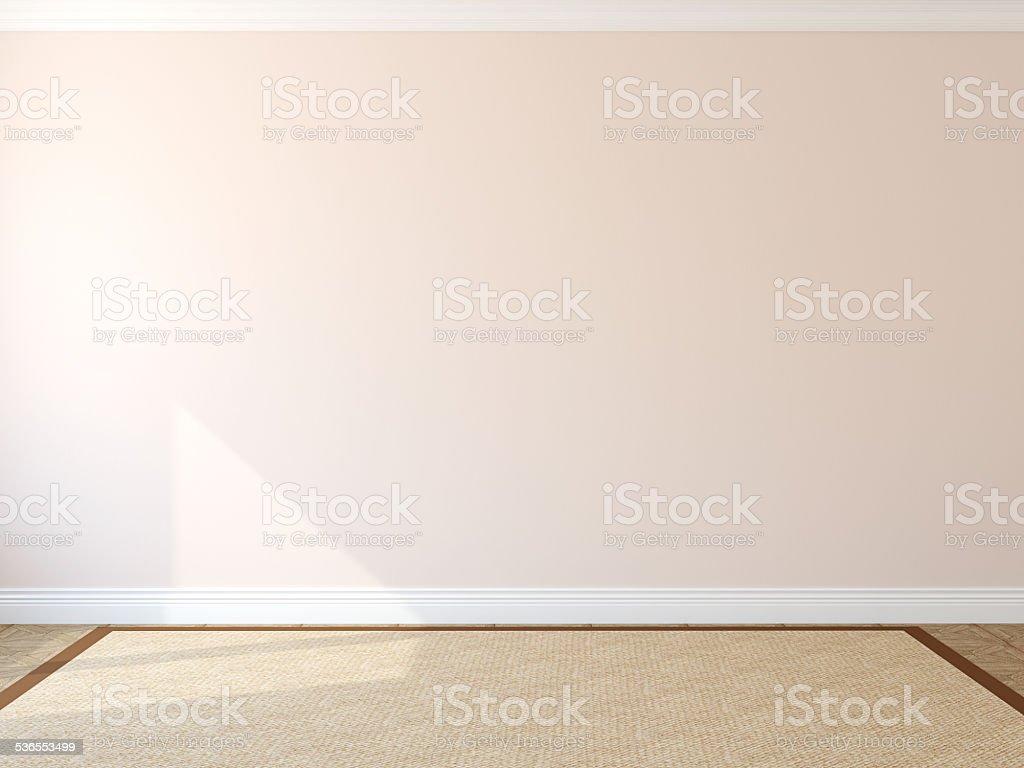 Interior. Empty room stock photo