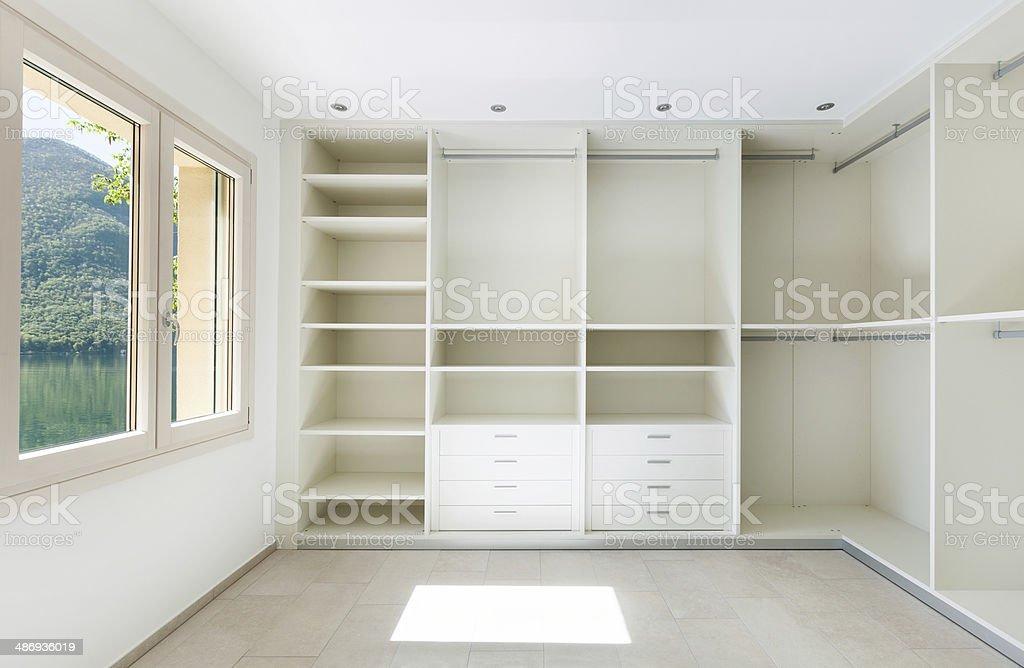interior house, cloakroom stock photo