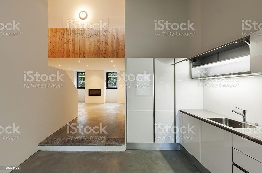 interior house, kitchen royalty-free stock photo