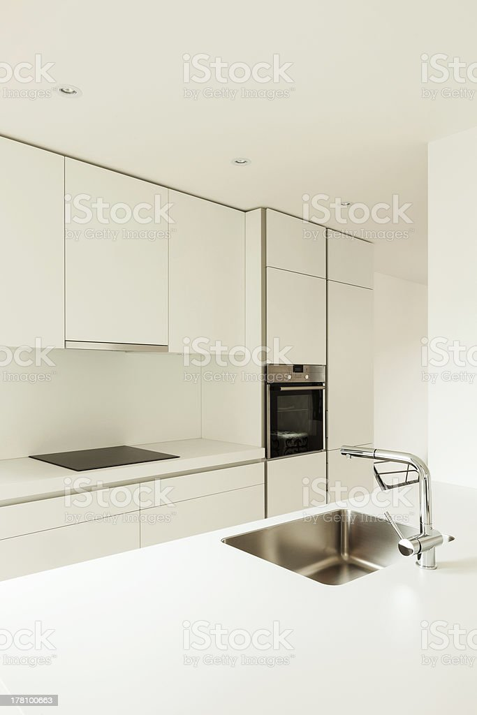 interior house, kitchen view royalty-free stock photo
