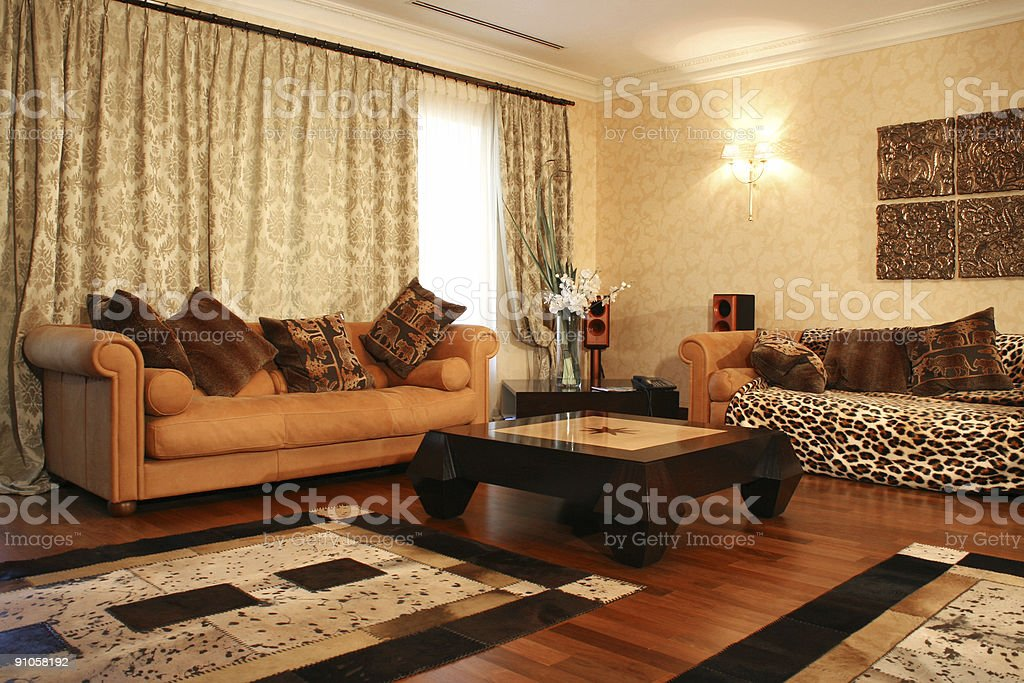 Interior in house royalty-free stock photo