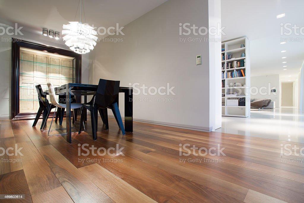 Interior in modern design stock photo