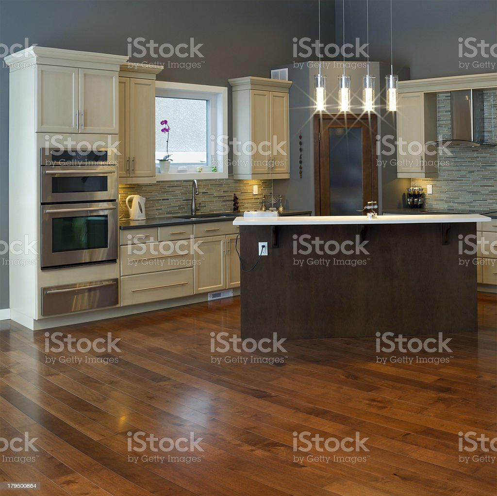 Interior kitchen Design royalty-free stock photo