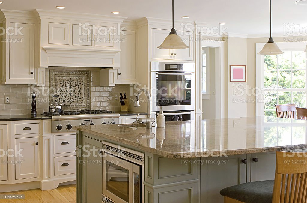 interior kitchen stock photo