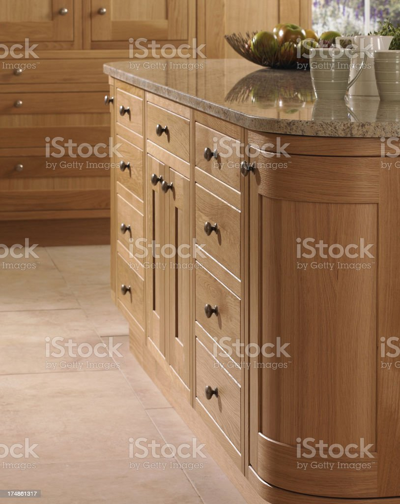 Interior kitchen units royalty-free stock photo
