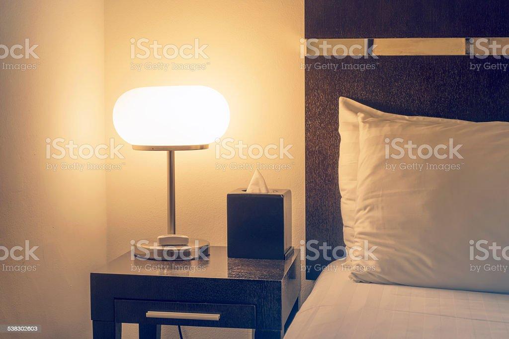 interior lamp stock photo