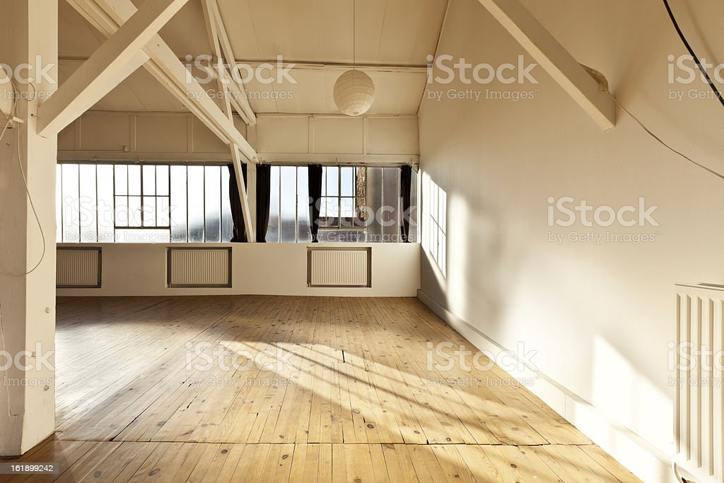 Interior, large room royalty-free stock photo