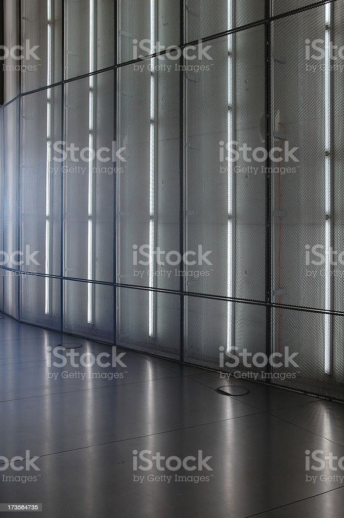 Interior - lighting wall royalty-free stock photo