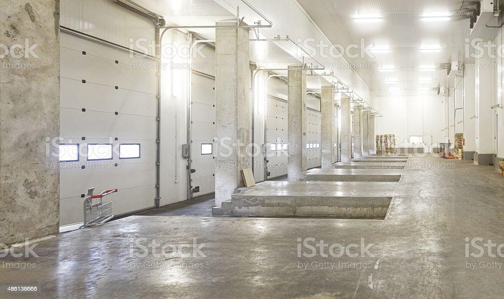 Interior Loading Bay stock photo