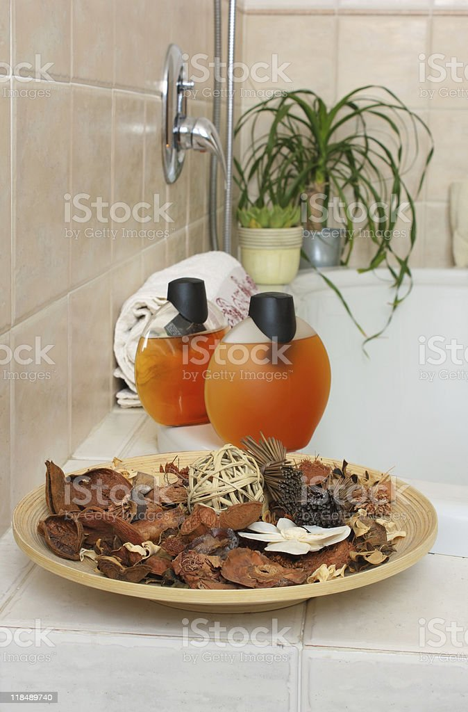 Interior modern bathroom royalty-free stock photo