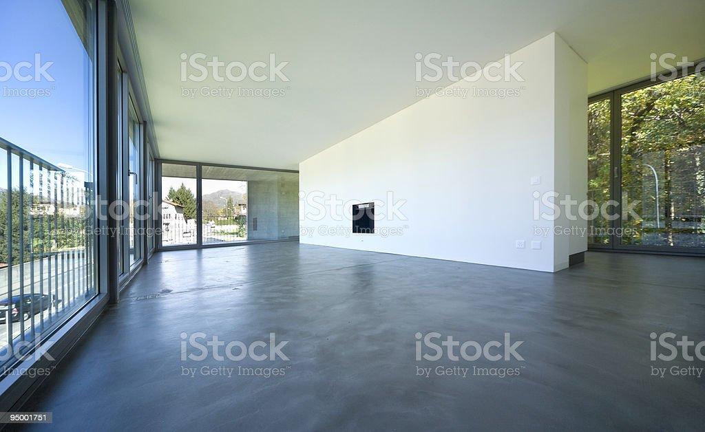 interior modern house royalty-free stock photo