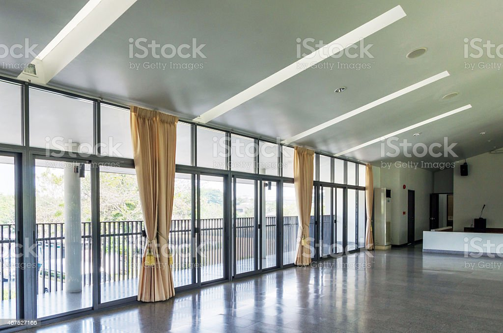 Interior multi purpose room stock photo