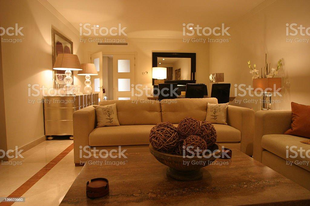 Interior New Apartment royalty-free stock photo