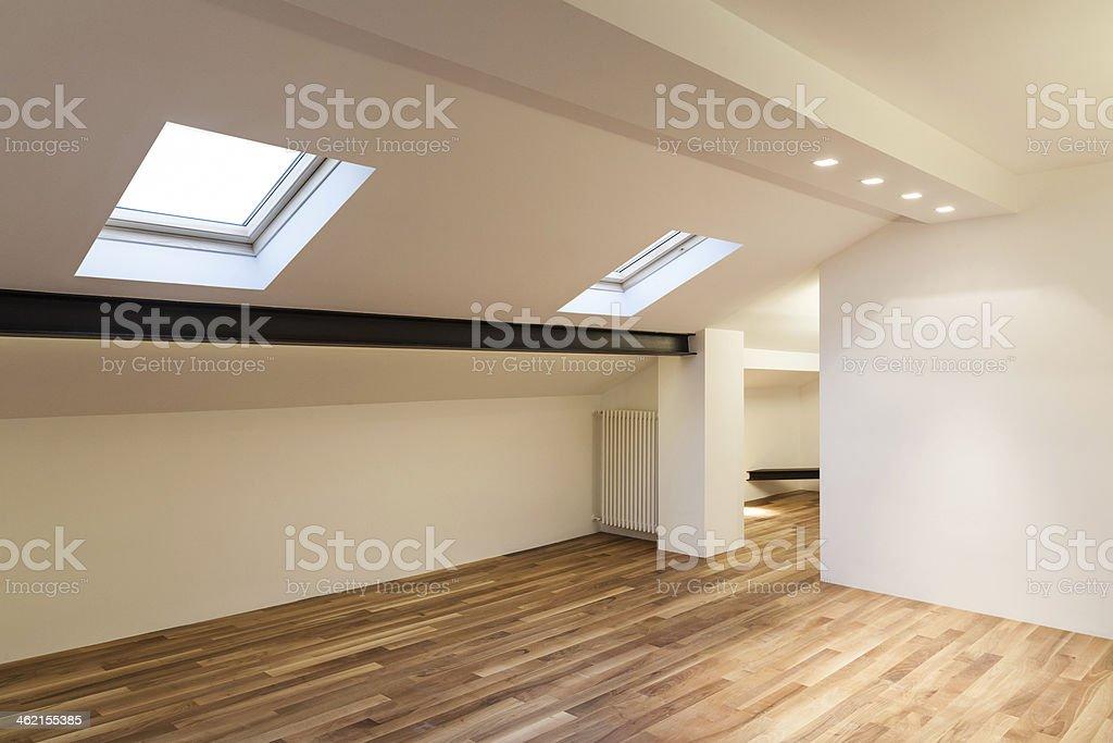 Interior nice loft stock photo
