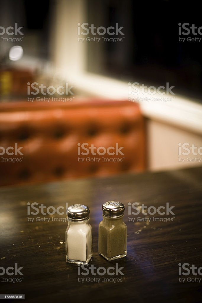 Interior of a Diner stock photo
