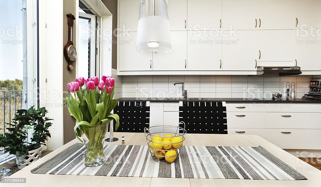 interior of a kitchen royalty-free stock photo