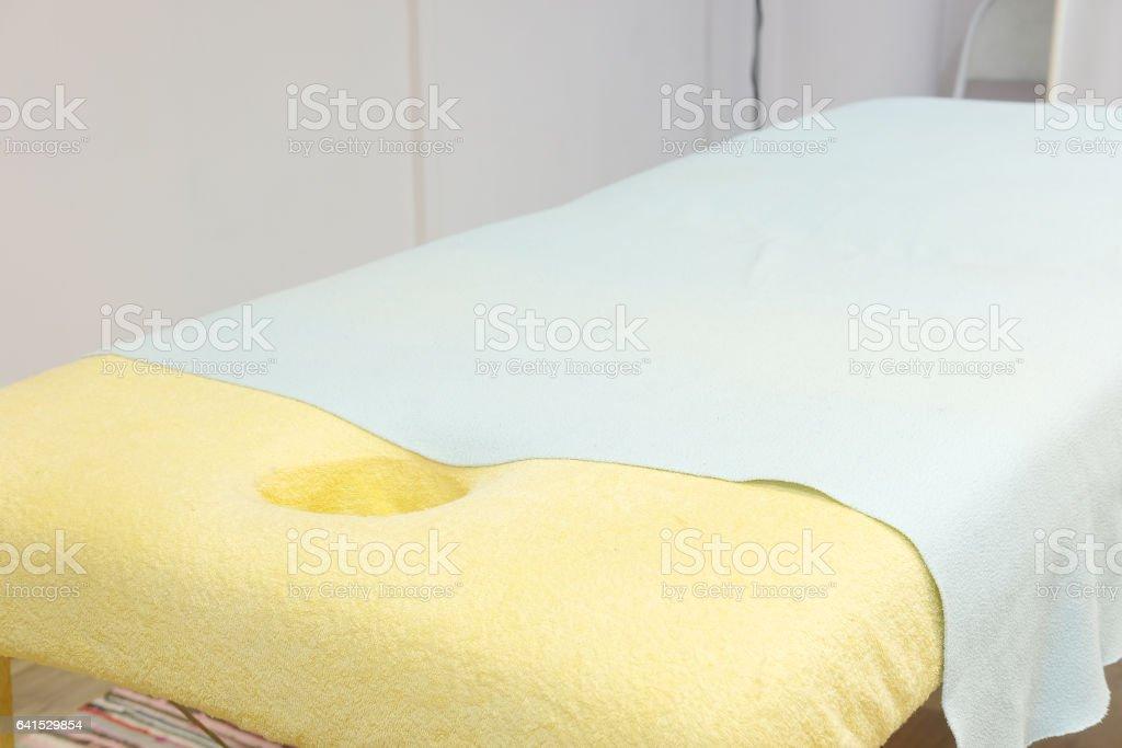 Interior of a massage office stock photo