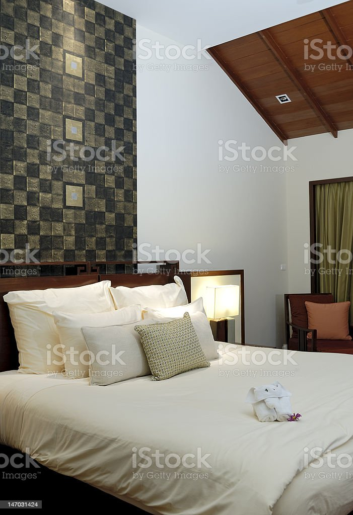 Interior of a modern home royalty-free stock photo