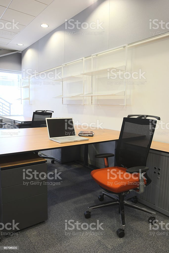 Interior of a new office royalty-free stock photo