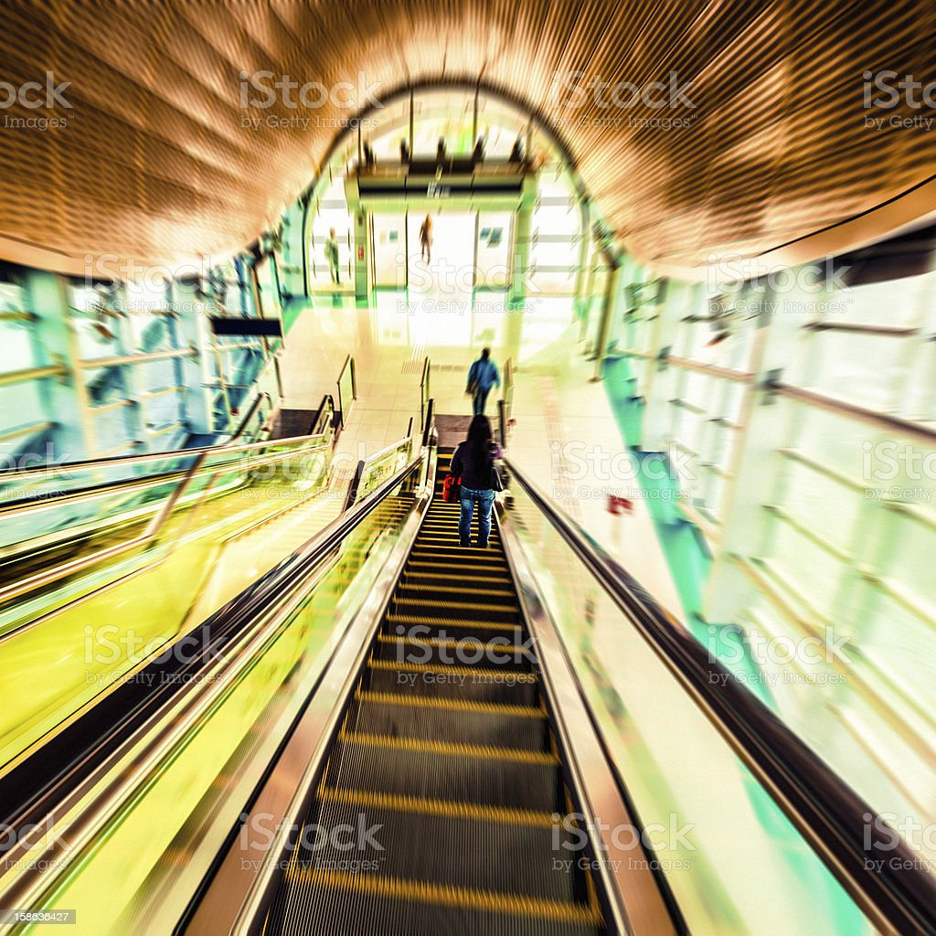 Interior of a Station royalty-free stock photo