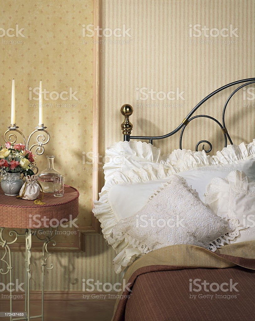 Interior of bedroom royalty-free stock photo