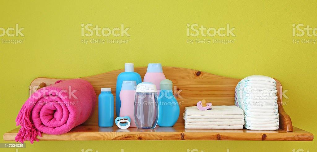 Interior of children room stock photo