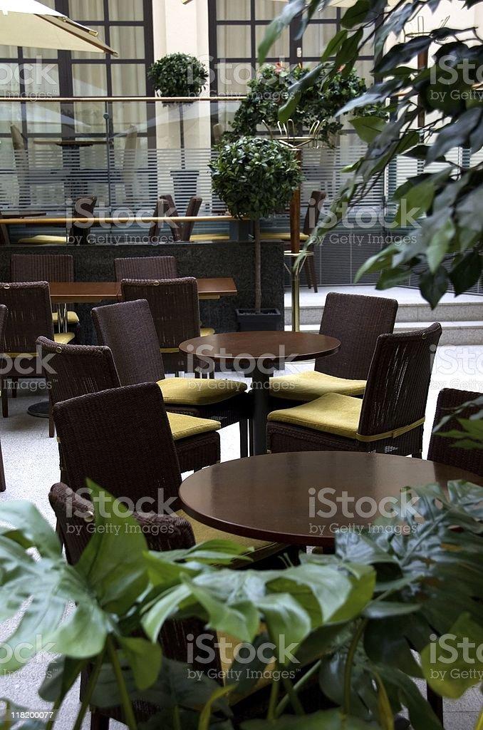 Interior of Coffee Shop stock photo