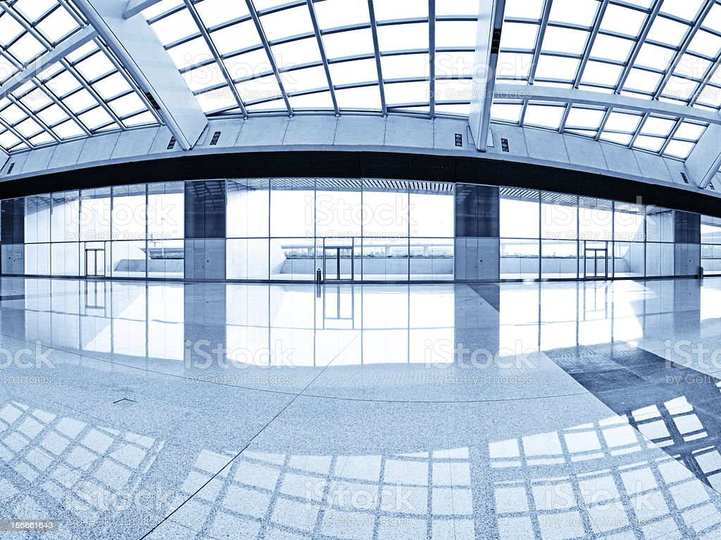 Interior of Contemporary Building - XXXLarge royalty-free stock photo