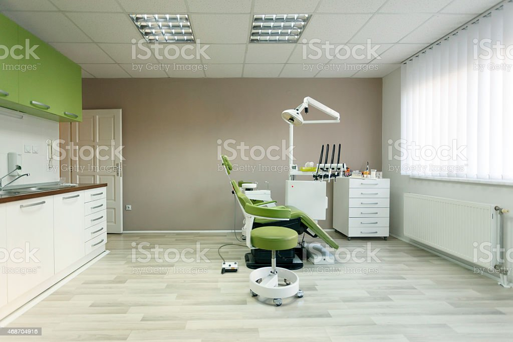 Interior of dental office stock photo
