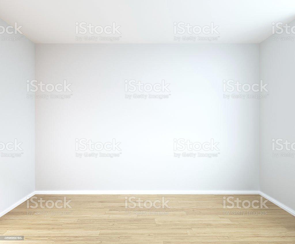 interior of empty room stock photo