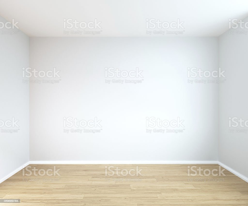 interior of empty room stock photo
