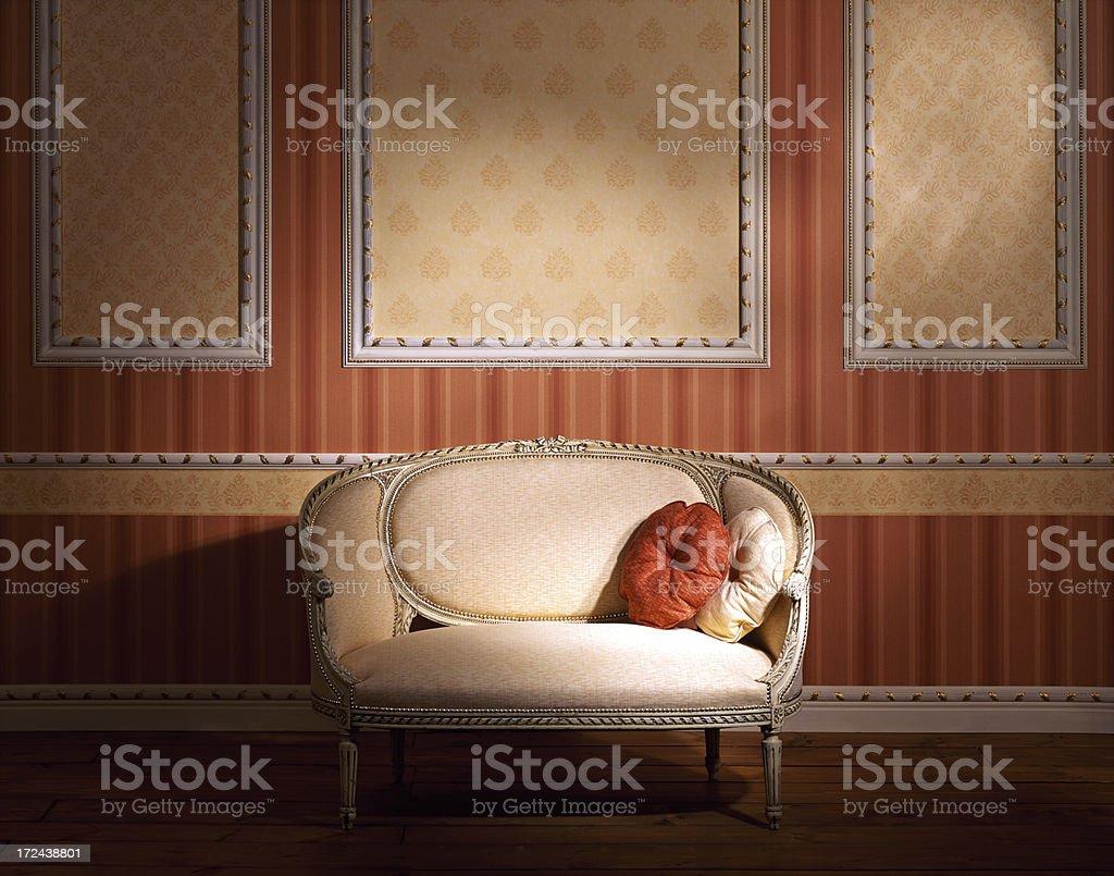 Interior of hallway royalty-free stock photo