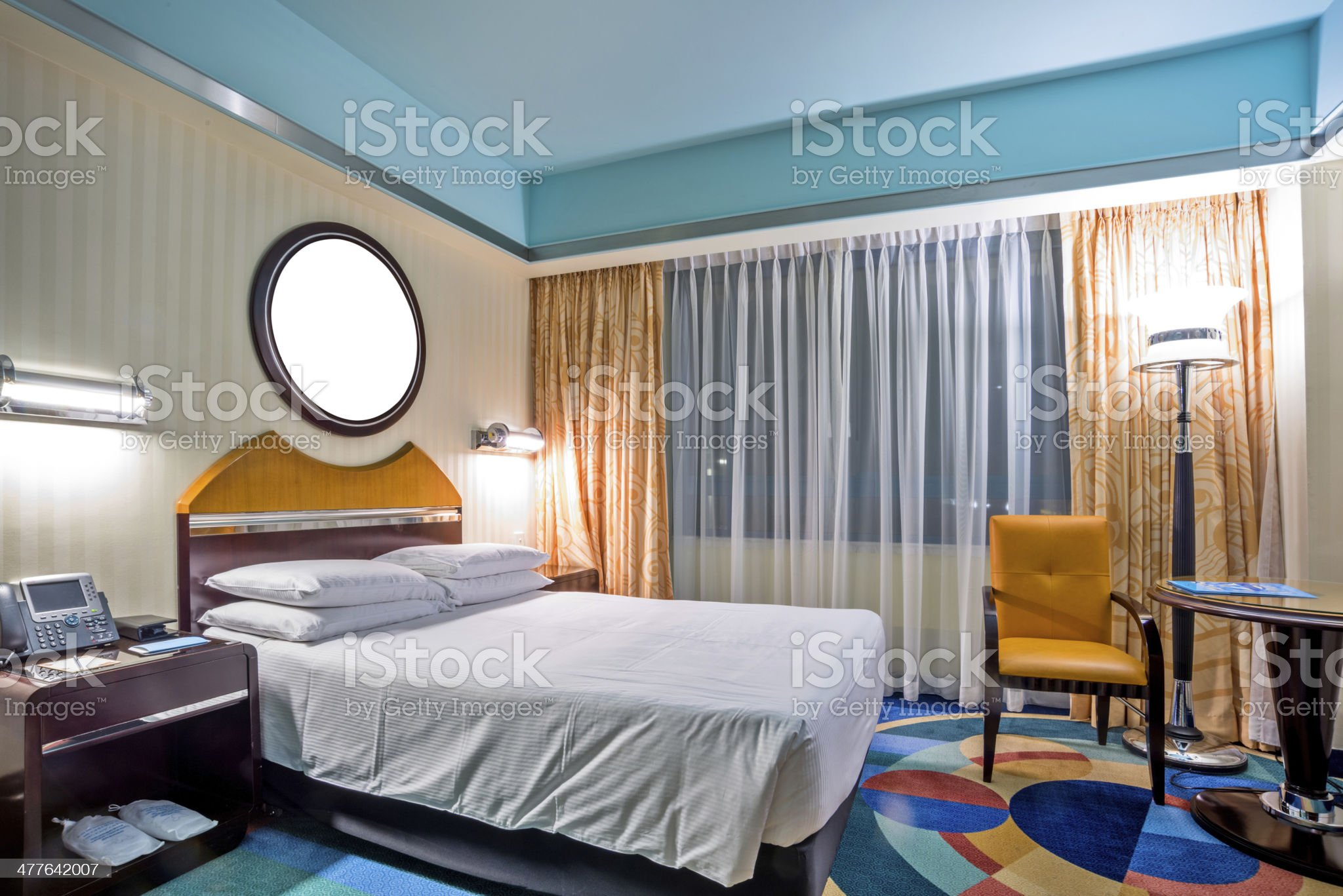 interior of hotel royalty-free stock photo