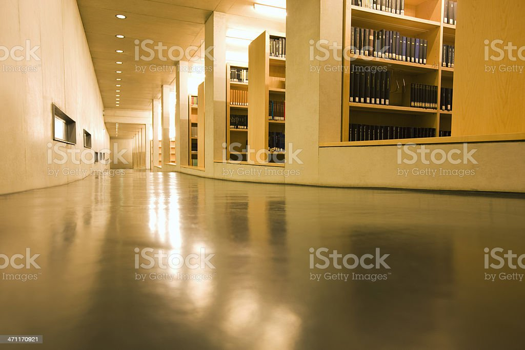 Interior Of Library royalty-free stock photo