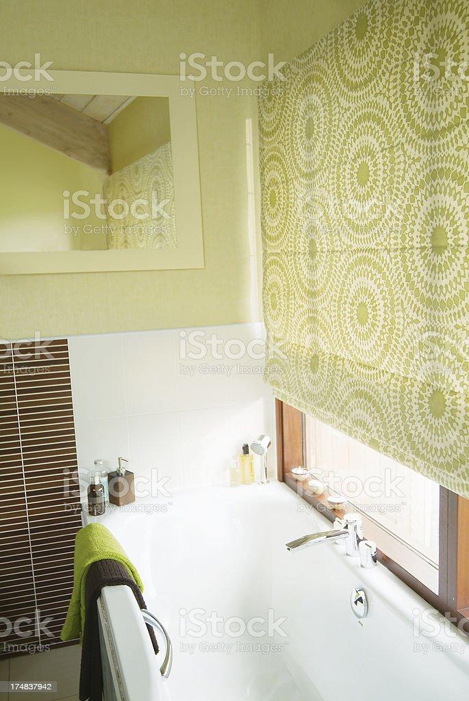 Interior of luxurious bathroom royalty-free stock photo