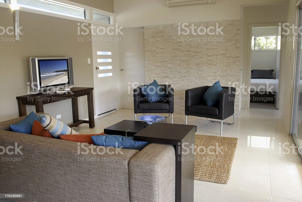Interior of luxury Apartment royalty-free stock photo
