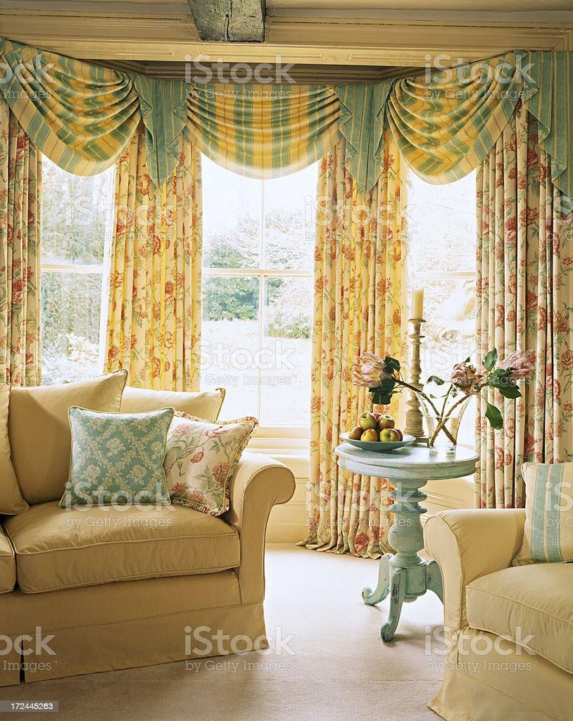 Interior of luxury living room royalty-free stock photo