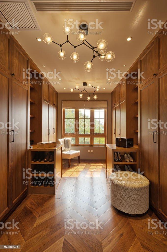interior of modern entrance hall stock photo