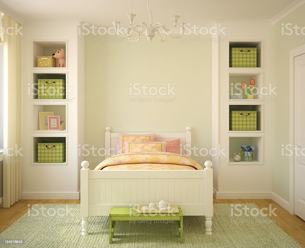 Interior of playroom. royalty-free stock photo